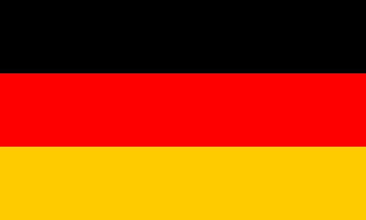 speisekarte Restaurant am Markt in Goch - Flagge Deutschland